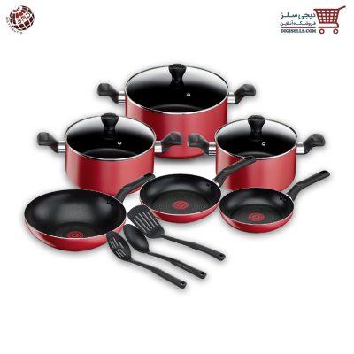 سرویس پخت و پز 12 پارچه تفال مدل سوپر کوک دیجی سلز