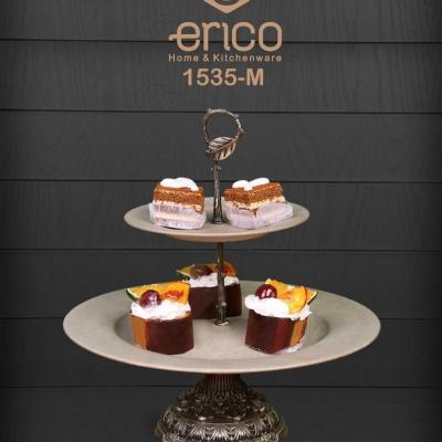 شیرینی خوری دو طبقه اریکو مدل M1535 دیجی سلز